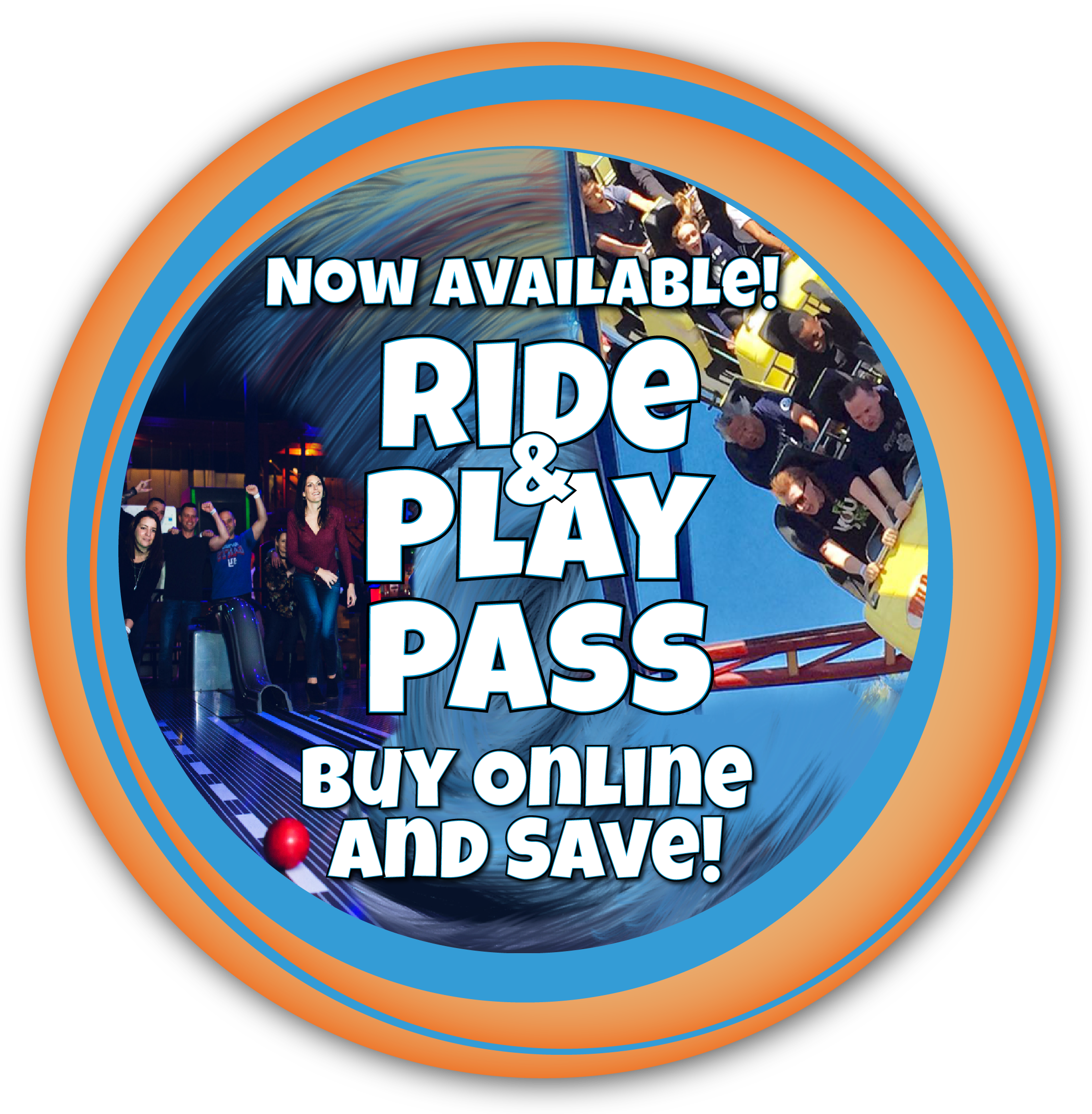Ride & Play Pass now available! Buy online and save!